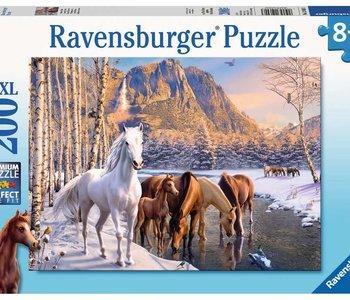 Winter Horses 200pc Puzzle