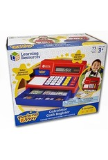 Pretend &  Play Calculator Cash Register Canadian Currency