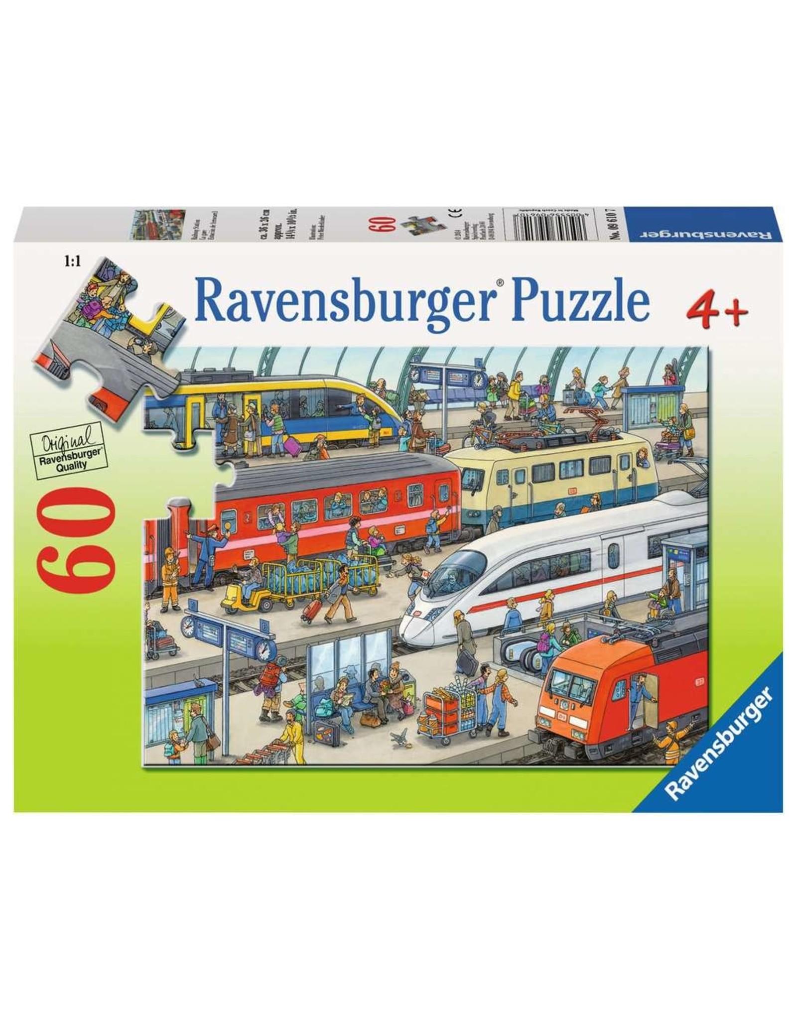 Ravensburger Railway Station 60pc Puzzle
