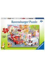Ravensburger Fire Fighter Rescue! 60pc Puzzle