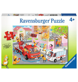 Ravensburger Fire Fighter Rescue! 60pc Puzzle