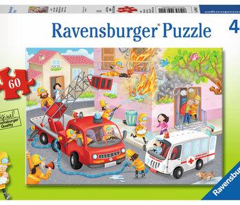 Fire Fighter Rescue! 60pc Puzzle