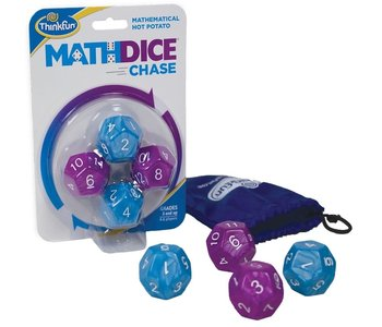 Math Dice Chase Game