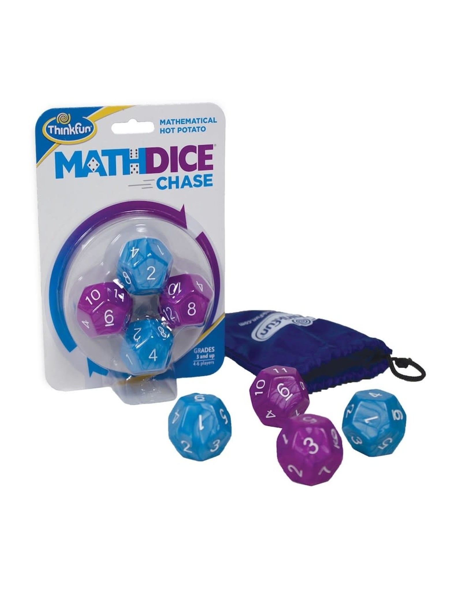 Think Fun Math Dice Chase Game