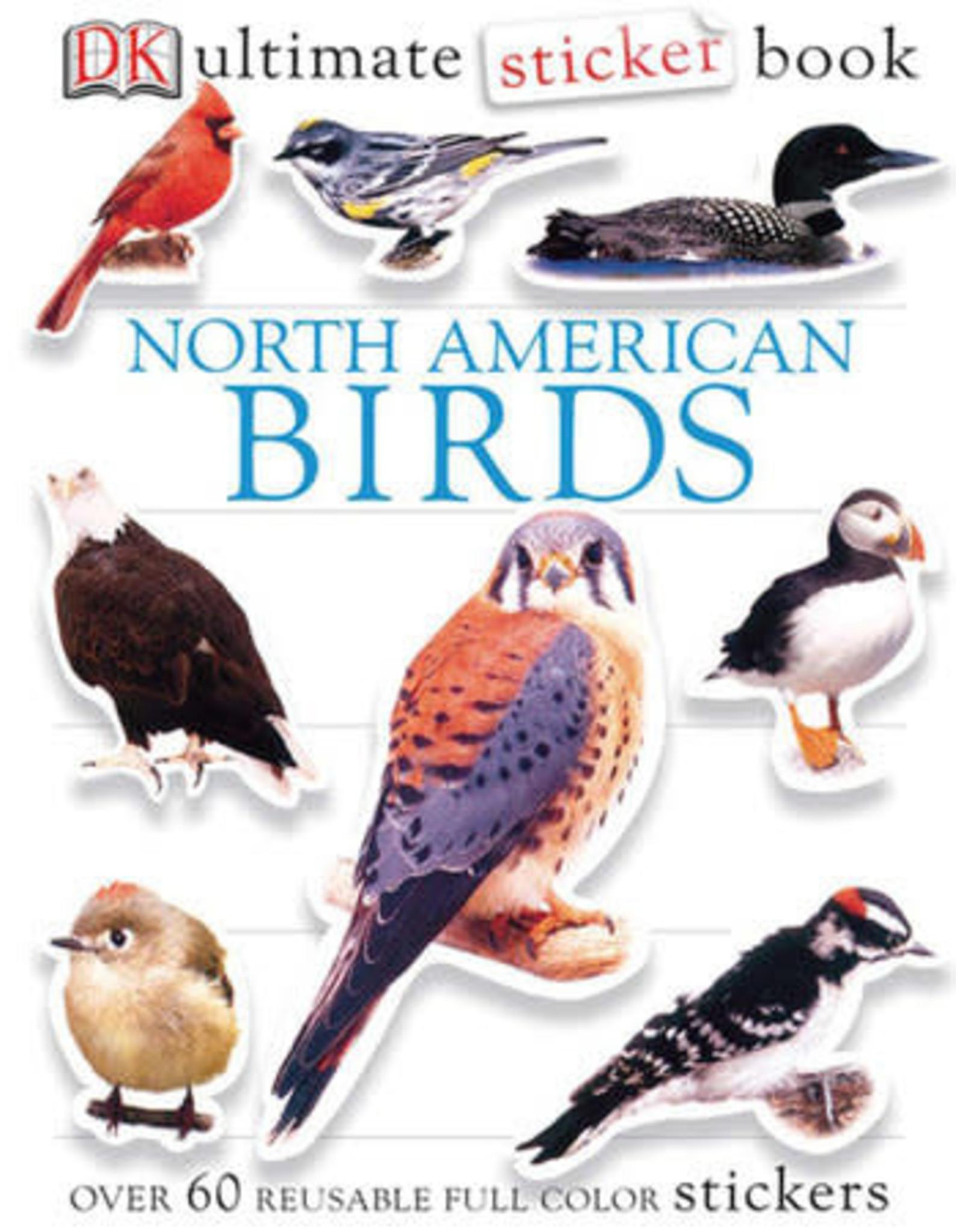 DK North American Birds Ultimate Sticker Book