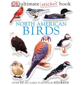 DK North American Birds Ultimate Sticker Book