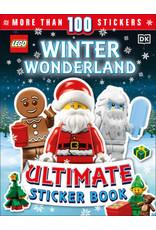 DK LEGO Winter Wonderland Ultimate Sticker Book