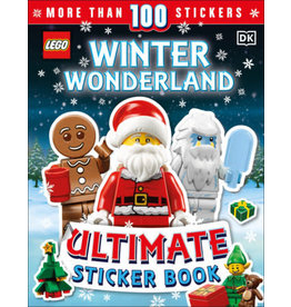 DK LEGO Winter Wonderland Ultimate Sticker Book