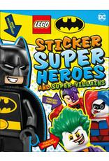 DK LEGO Batman Sticker Super Heroes and Super-Villains