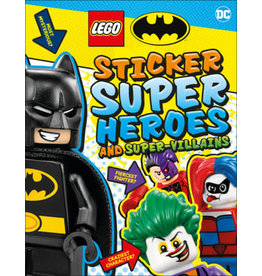 DK LEGO Batman Sticker Super Heroes and Super-Villains