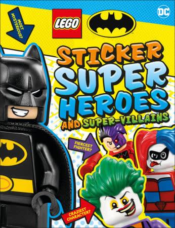 LEGO Batman Sticker Super Heroes and Super-Villains
