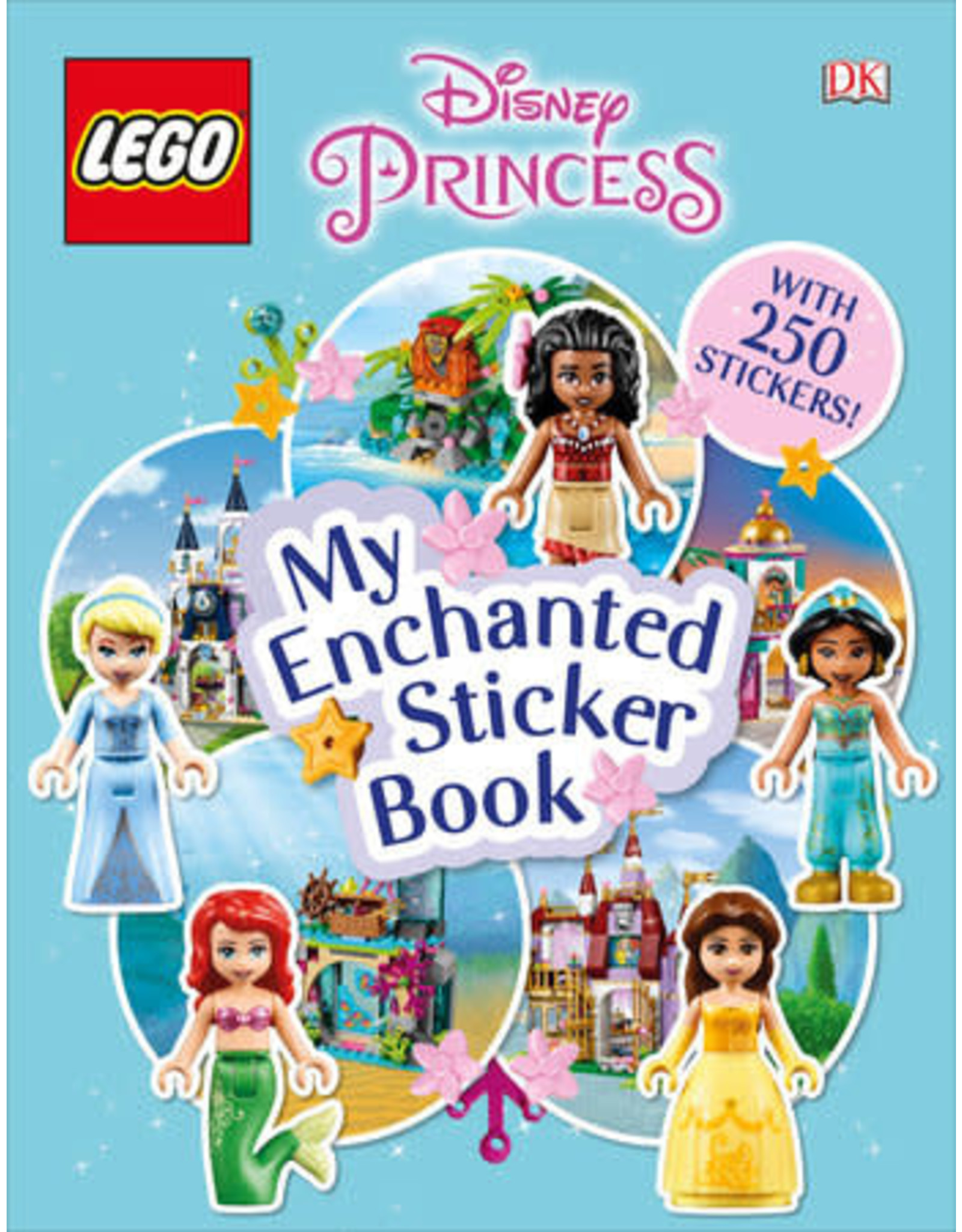 DK LEGO Disney Princess My Enchanted Sticker Book