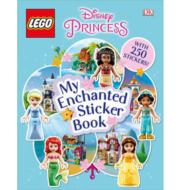 DK LEGO Disney Princess My Enchanted Sticker Book