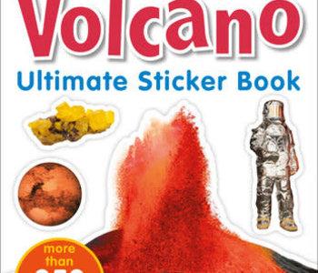 Ultimate Sticker Book: Volcano