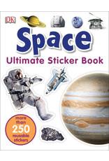 DK Ultimate Sticker Book: Space