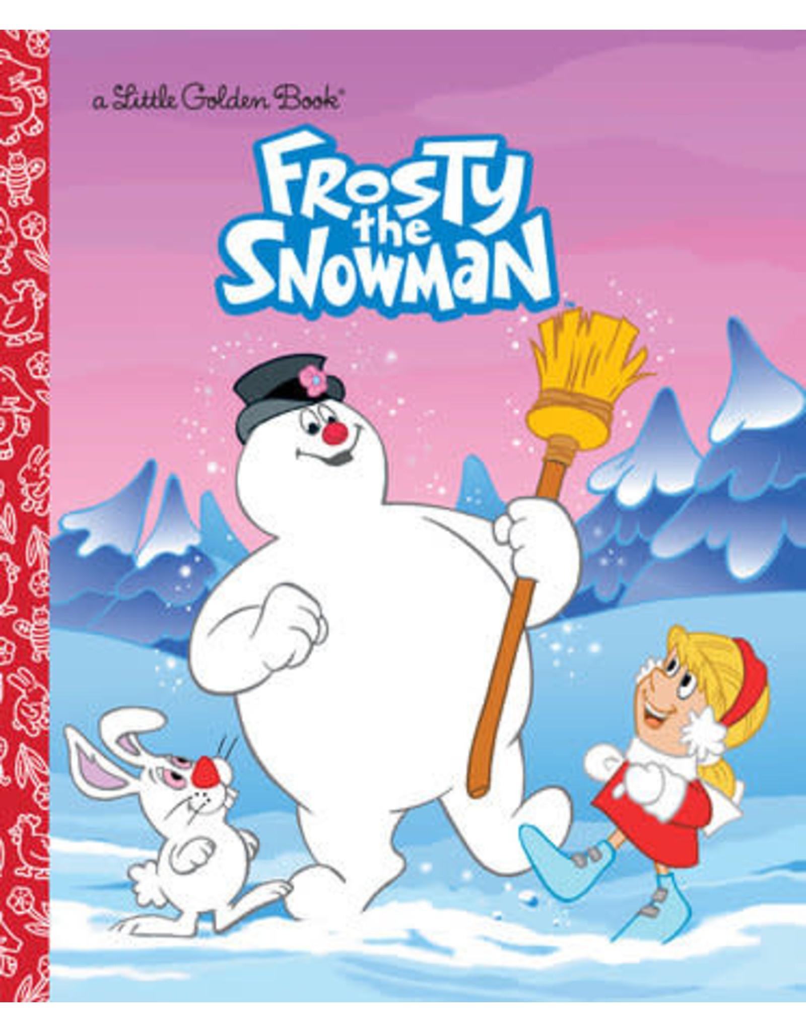 Golden Frosty the Snowman