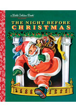 Golden The Night Before Christmas Book