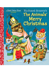 Golden Richard Scarry's The Animals Merry Christmas