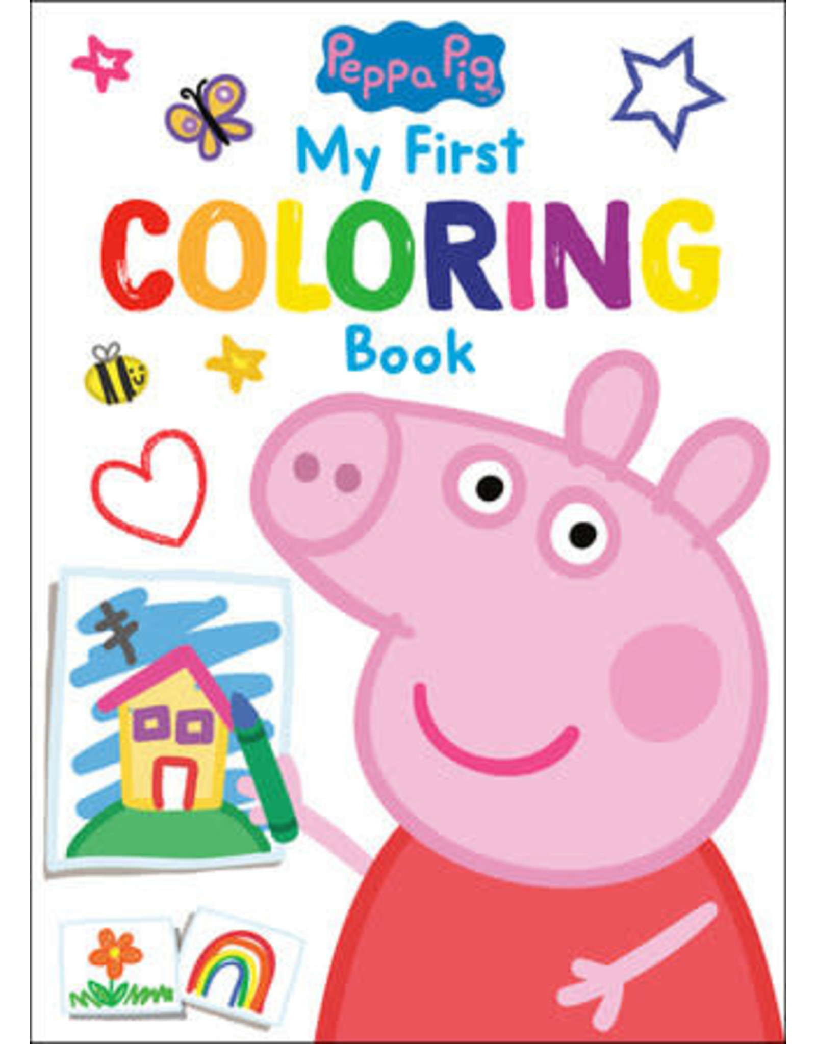 Golden Peppa Pig My First Coloring Book