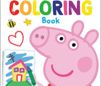 Peppa Pig My First Coloring Book