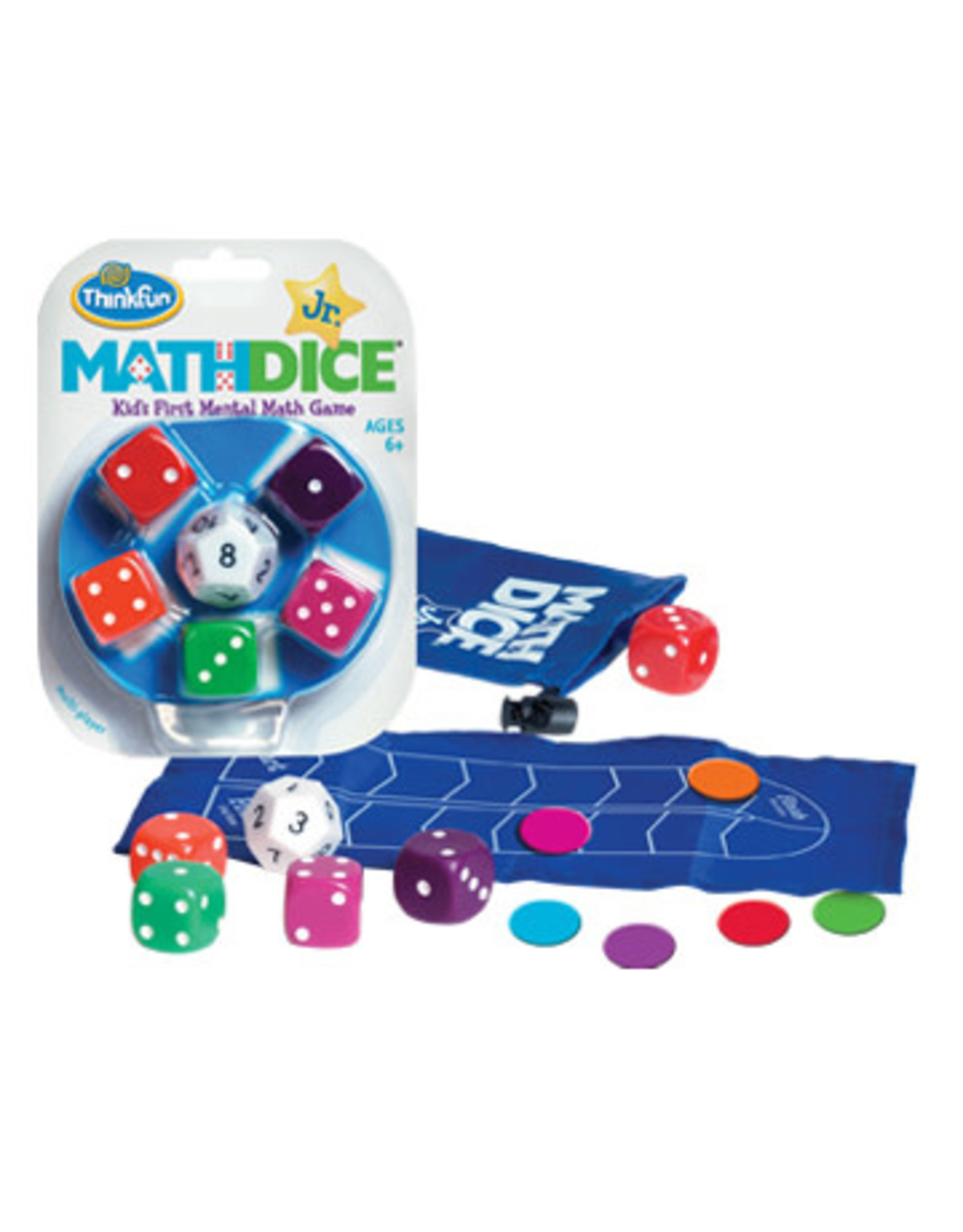 Think Fun Math Dice Jr. Game