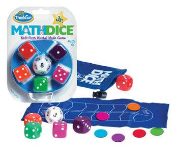 Math Dice Jr. Game