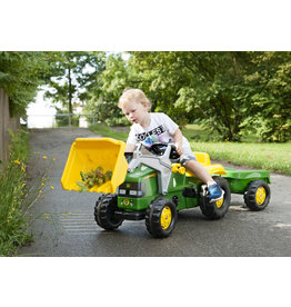 Kettler Kettler John Deere Kid Tractor with Trailer