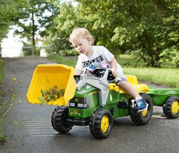 Kettler John Deere Kid Tractor with Trailer