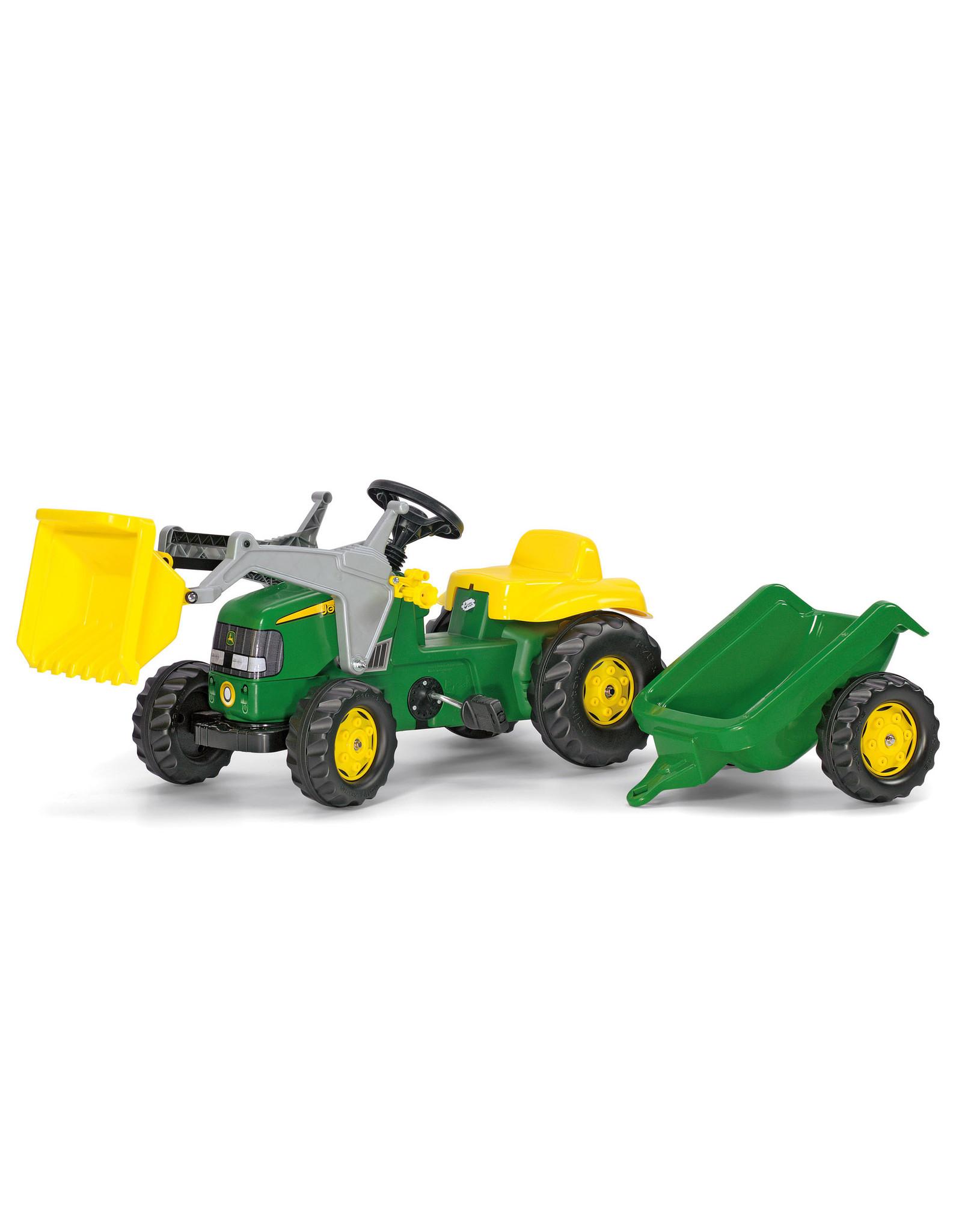 Kettler Kettler John Deere Kid Tractor with Trailer