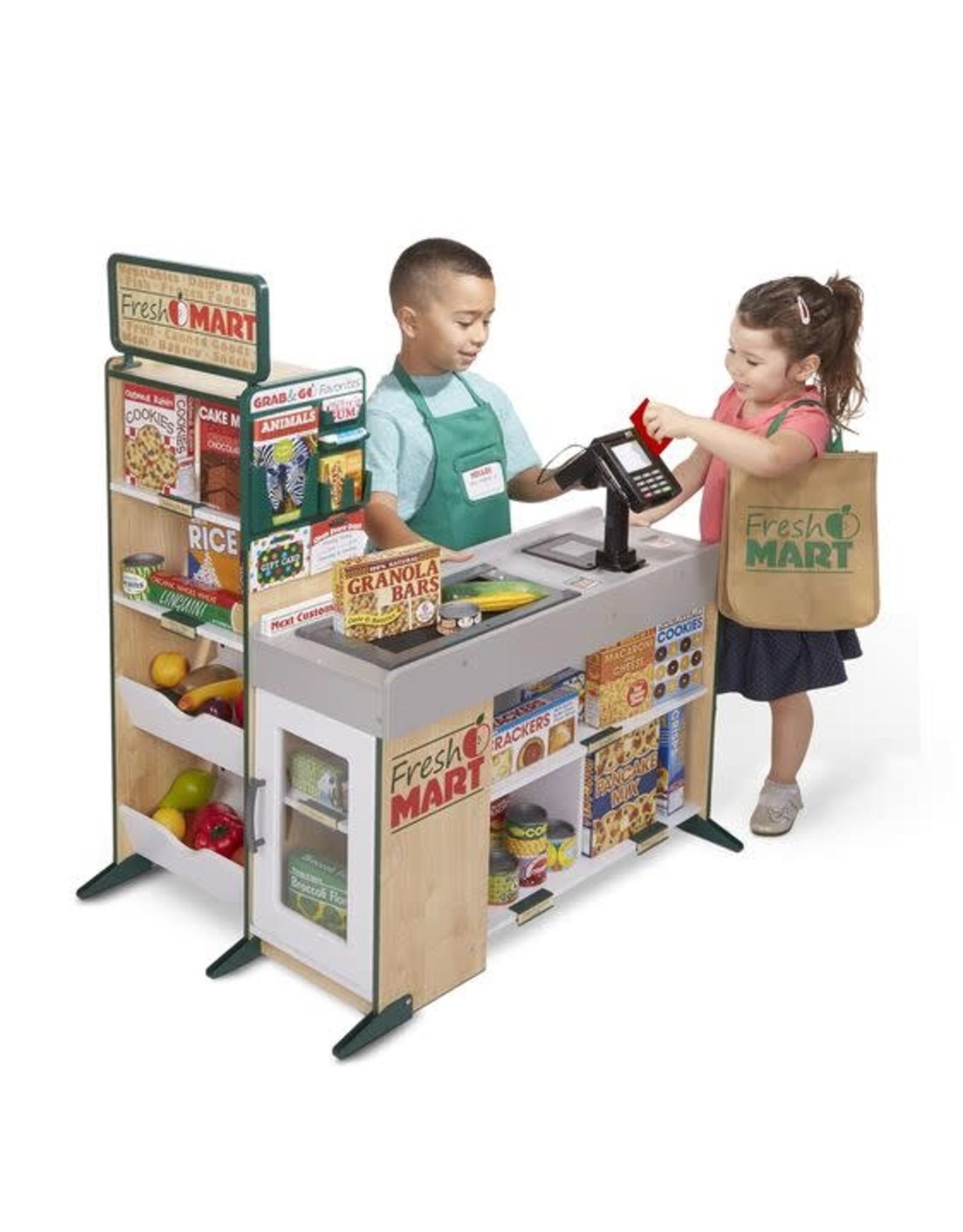 Melissa & Doug Fresh Mart Grocery Store