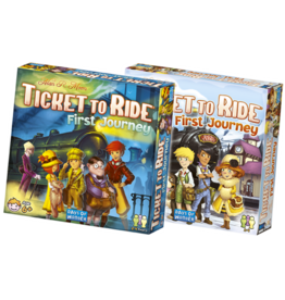 Days of Wonder Ticket to Ride: First Journey Europe