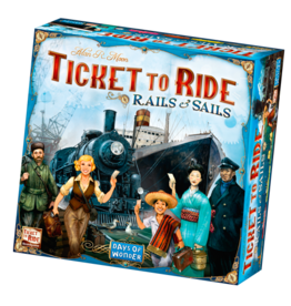 Days of Wonder Ticket to Ride Rails & Sails
