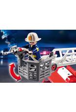 Rescue Ladder Unit Fire Truck