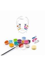 Djeco Face Paint Metallic