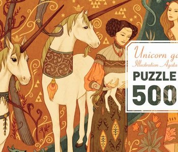 Unicorn Garden 500pc Puzzle