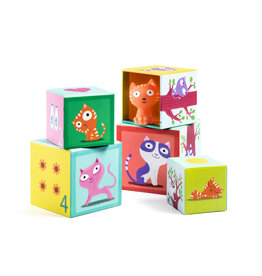 Djeco Catibloc Stacking Toy
