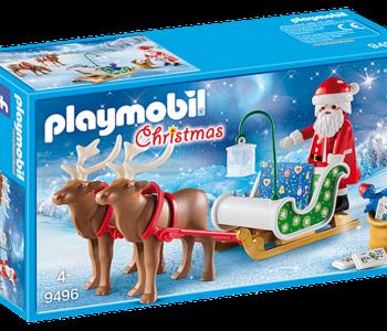 Playmobil - Christmas -Santa's Sleigh with Reindeer