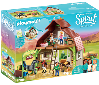 Spirit Barn with Lucky, Pru & Abigail