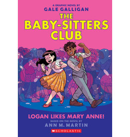 Scholastic The Babysitters Club #8 Logan Likes Mary Anne!