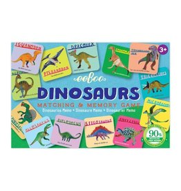 eeBoo Dinosaurs Memory and Matching Game