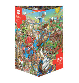 Heye History River 1500pc Puzzle
