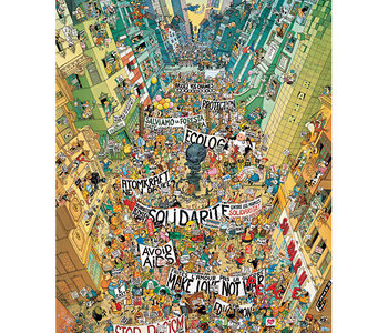 Protest 2000pc Puzzle