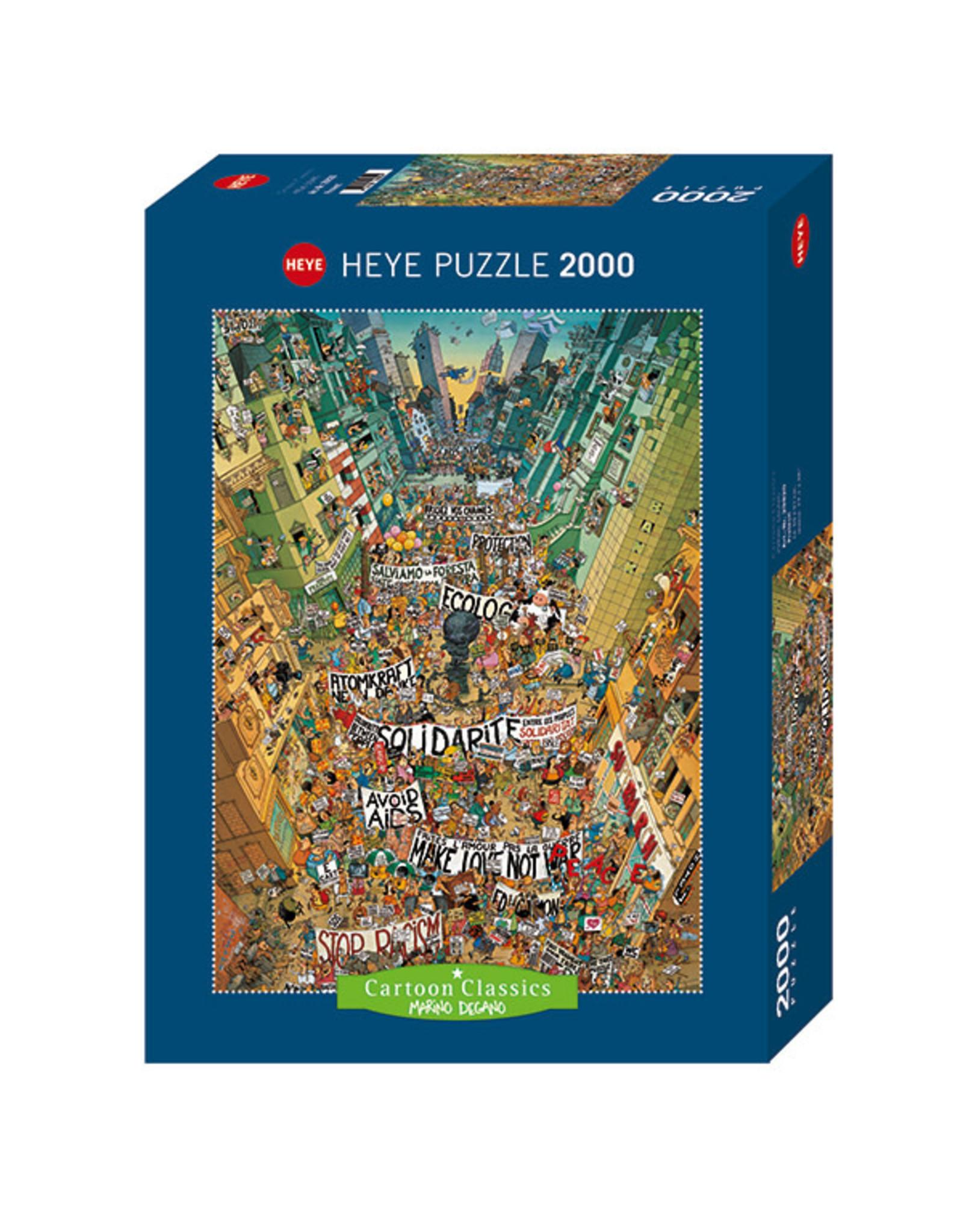 Heye Protest 2000pc Puzzle