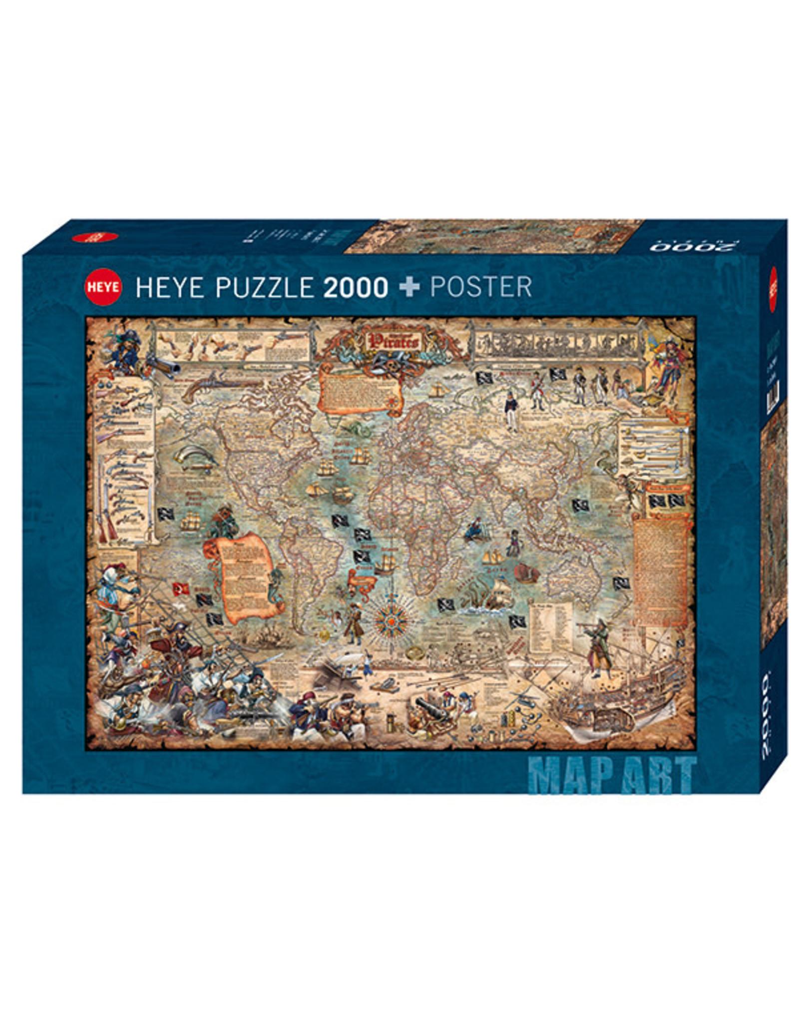 Heye Pirate World 2000pc Puzzle