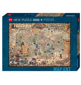 Heye Pirate World 2000pc Puzzle