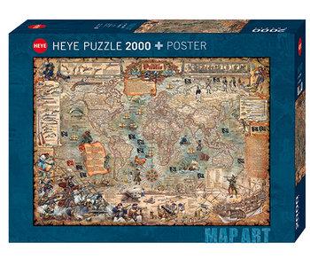 Pirate World 2000pc Puzzle