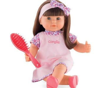 """Corolle Alice 14"""" Doll w Hair to Brush"""