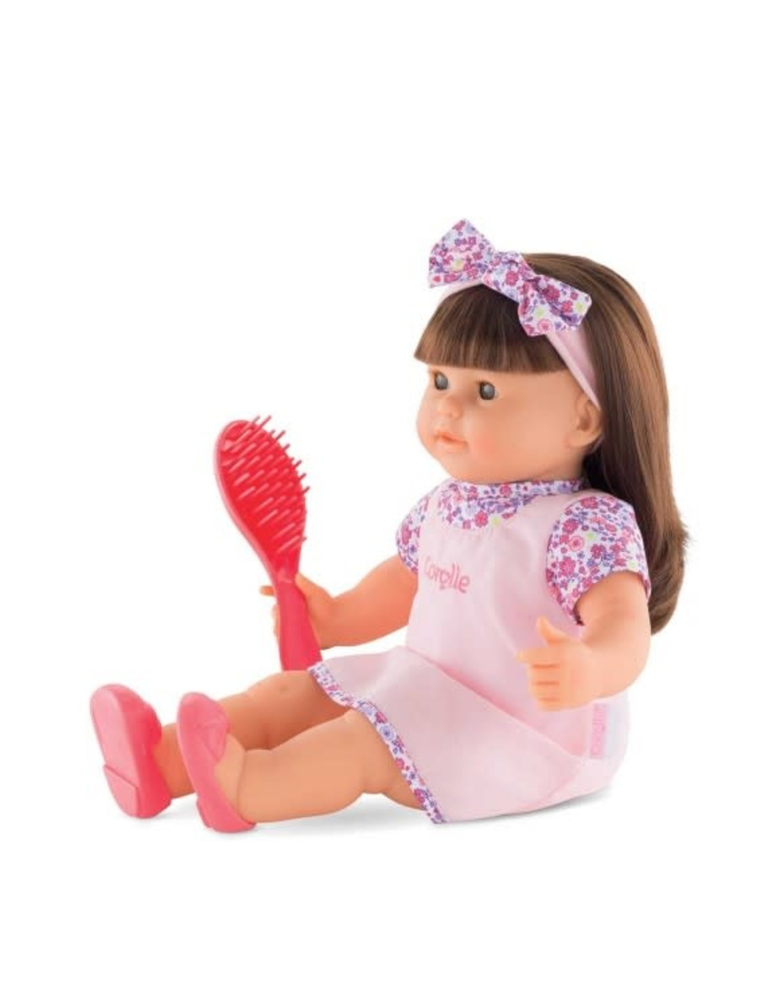 "corolle Corolle Alice 14"" Doll w Hair to Brush"