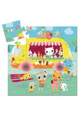 Djeco Ice Cream Truck 16pc Puzzle