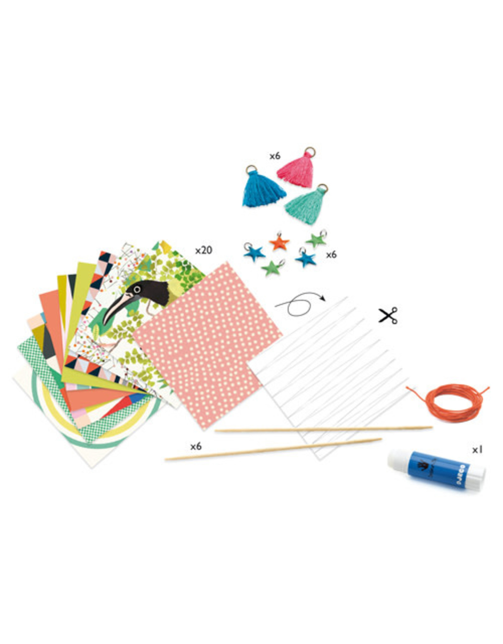 Djeco Spring Bracelets Paper Creations